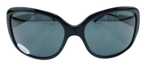 Burberry New B 4049 3001/87 Black Acetate Full-Frame Gray Lens 58mm Italy