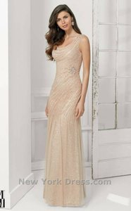 Nude/ Silver Vm Collection Dress
