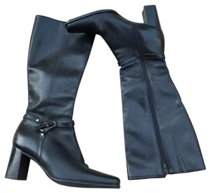 Caressa Black Boots