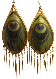 Alexis Bittar 'Alexandria' Large Fringe Earrings