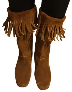 Minnetonka Brown Boots