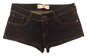 Abercrombie & Fitch Denim Short Mini/Short Shorts Dark Rinse
