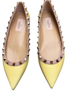 Valentino Yellow Flats