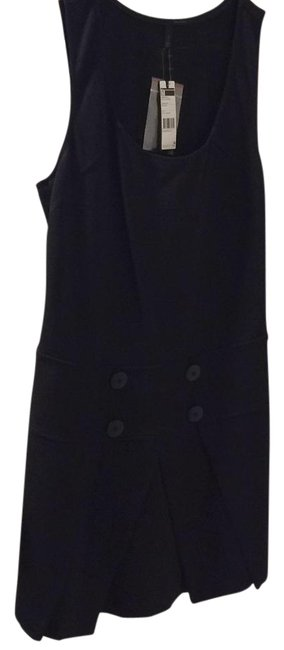 United Colors of Benetton Black 4f4msv065 Knee Length Work/Office Dress Size 8 (M) United Colors of Benetton Black 4f4msv065 Knee Length Work/Office Dress Size 8 (M) Image 1