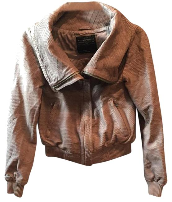 Item - Taupe Reptile Jacket Size 4 (S)