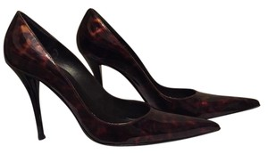 Stuart Weitzman Brown/Cognac Pumps