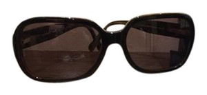 Chanel CHANEL 5124 Brown/Black Quilted CC Oversized Square Frames Sunglasses