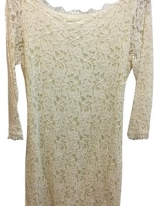 Diane von Furstenberg short dress Ivory/Cream on Tradesy