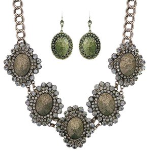 Sorrelli Sorrelli Industrial Chic Statement Necklace & Earrings