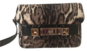 Proenza Schouler Ps11 Satchel Leopard Cross Body Bag