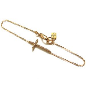Elliot Francis diamond cross bracelet