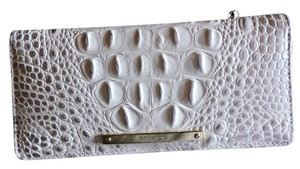 Brahmin Brahmin Ady Halo Croc Embossed Leather Bi-Fold Slim Wallet NWT