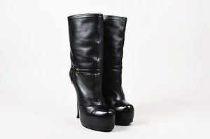 Saint Laurent Yves Black Boots