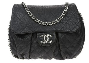 Chanel Chain Me Around Flap Jumbo Cross Body Bag