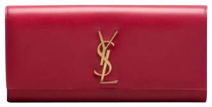 Saint Laurent Fushia Clutch