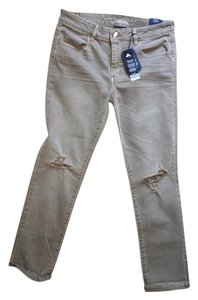 American Eagle Outfitters Cropped Jeggings-Distressed