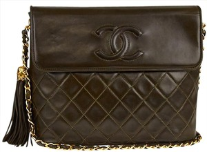 Chanel Quilted Classic Flap Tassel Cross Body Shoulder Bag