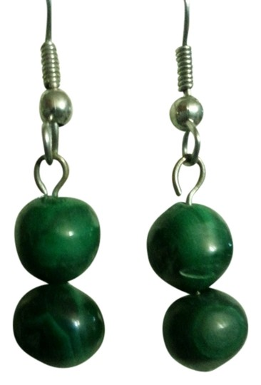Preload https://item3.tradesy.com/images/green-2-malachite-stone-bead-earrings-1992932-0-0.jpg?width=440&height=440