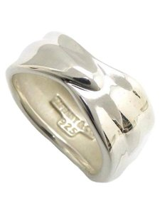Tiffany & Co. size 6.5, sterling silver, leaf, fashion ring / band