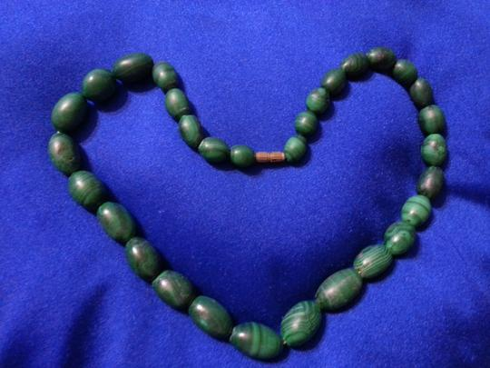 Other Green malachite bead necklace