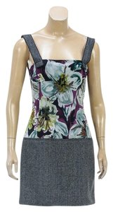 Dolce&Gabbana short dress Green/Multicolor on Tradesy
