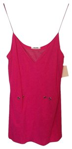 Moschino Designer Top Hot Pink