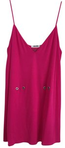 Moschino Designer Pink Top Hot Pink