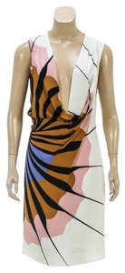 Diane von Furstenberg short dress Cream/Multicolor on Tradesy