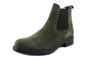 The FLEXX Bootie Suede Casual Green Boots