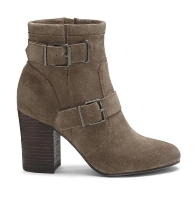 Item - Taupe Gray Verona Simlee Suede Leather High 9 1/2 Boots/Booties Size US 9.5 Regular (M, B)