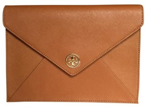 Tory Burch Tote in LUGGAGE, GOLD