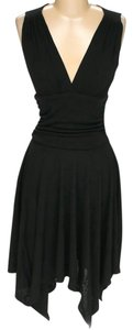 CeCe by Cynthia Steffe short dress Black Hi Lo V-neck on Tradesy