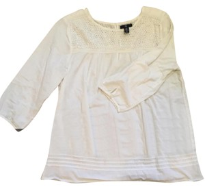 Gap Casual Boho Top White