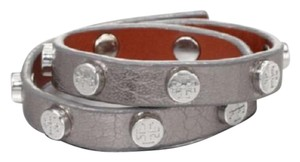 Tory Burch Tory Burch Double Wrap Bracelet Color: Silver Style#50005956
