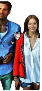 Zara Orange Blazer