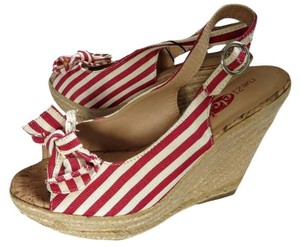 Rue 21 Halloween Costume Striped Red Wedges