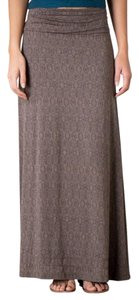 Toad&Co Boho New With Tags Maxi Skirt Falcon Brown Tapestry