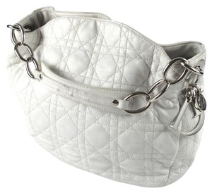 Dior Lady Cannage Hobo Charm Shoulder Bag