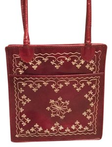 Stoneridge Tote in Rich Red
