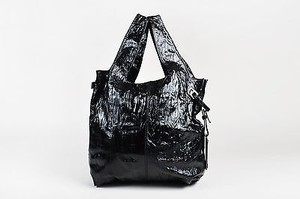 Givenchy Crinkled Tote in Black