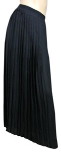 Gucci Runway Long Pleated Skirt Black