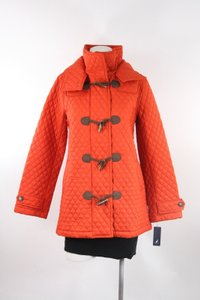 Nautica Hooded Toogle Quilted Coat Jacket