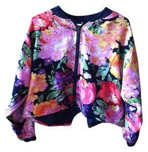 Speed Limit MPG Flowered Multicolored Jacket