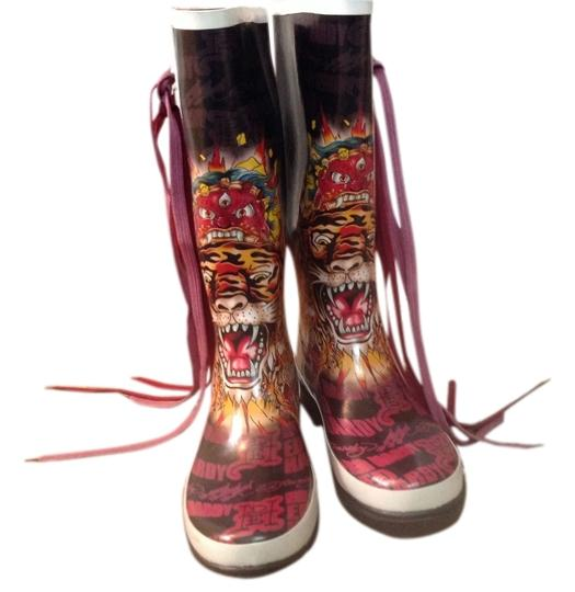 Preload https://item4.tradesy.com/images/ed-hardy-black-bootsbooties-size-us-7-1993158-0-0.jpg?width=440&height=440