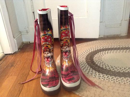 Ed Hardy Black Boots