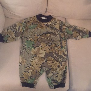J. TUOHY'S ADVANTAGE 18 Month Old Baby Camo Outfit