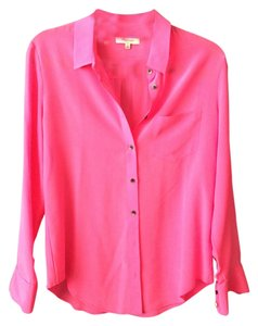 Madewell Button Down Shirt Pink