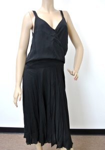 Gucci short dress Black Silk Pleated on Tradesy