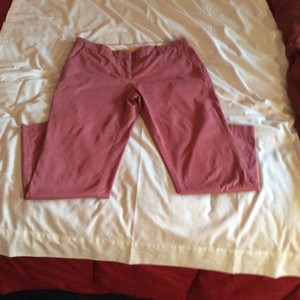 J.Crew Straight Pants Deepwood Rose