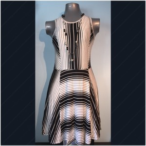 Romeo & Juliet Couture short dress Black & White on Tradesy